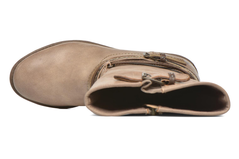 Boots en enkellaarsjes Mustang shoes Mupe Bruin links