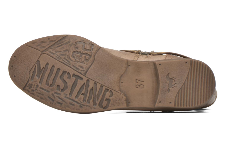 Stiefeletten & Boots Mustang shoes Mupe braun ansicht von oben
