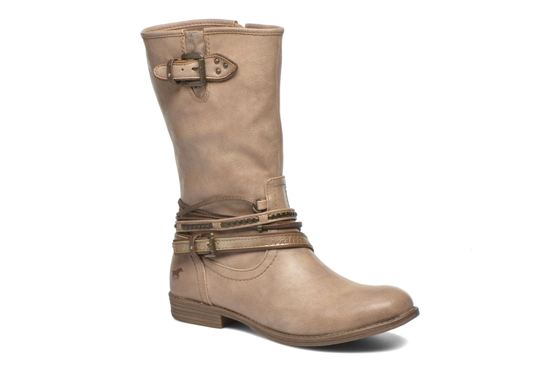 Boots en enkellaarsjes Mustang shoes Mupe Bruin detail