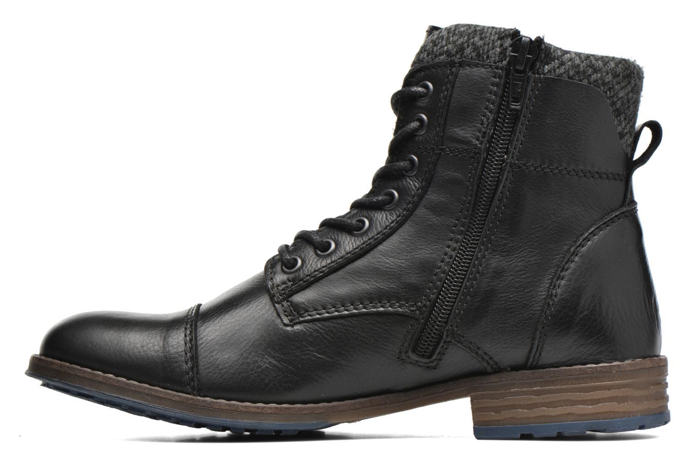 Boots en enkellaarsjes Mustang shoes Muwa Zwart voorkant