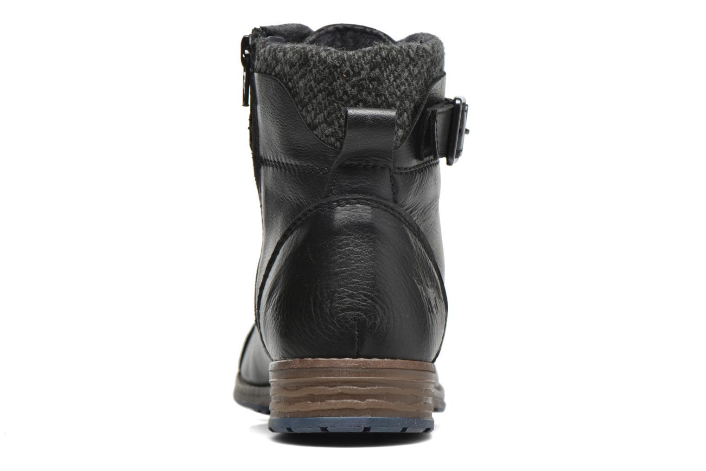 Boots en enkellaarsjes Mustang shoes Muwa Zwart rechts