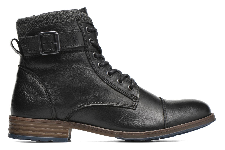 Boots en enkellaarsjes Mustang shoes Muwa Zwart achterkant