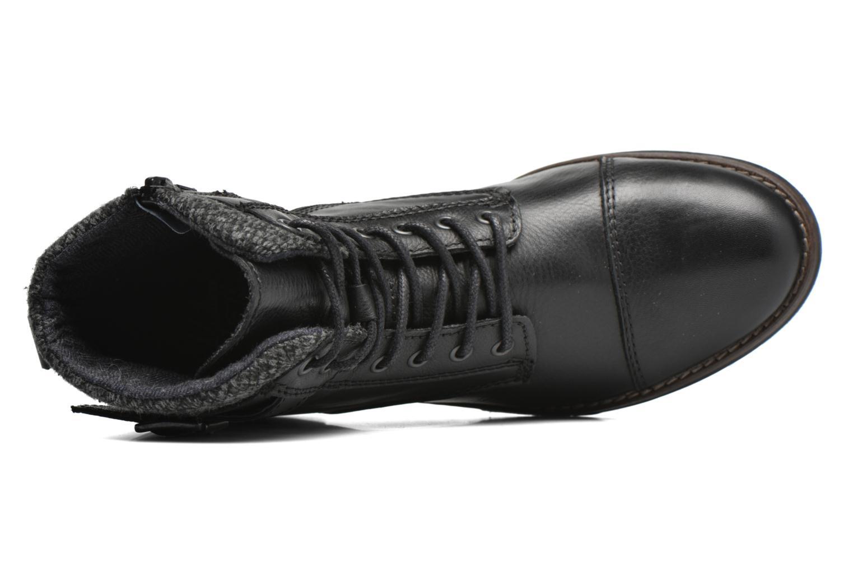Boots en enkellaarsjes Mustang shoes Muwa Zwart links