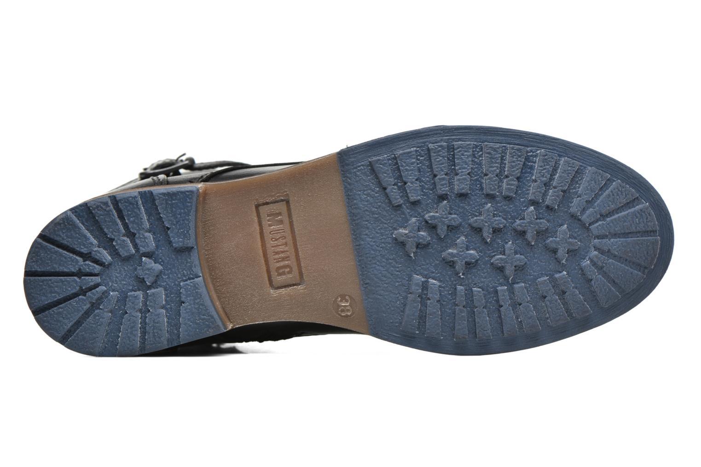 Boots en enkellaarsjes Mustang shoes Muwa Zwart boven