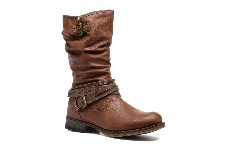 Bottes Mustang shoes Muze Marron vue détail/paire