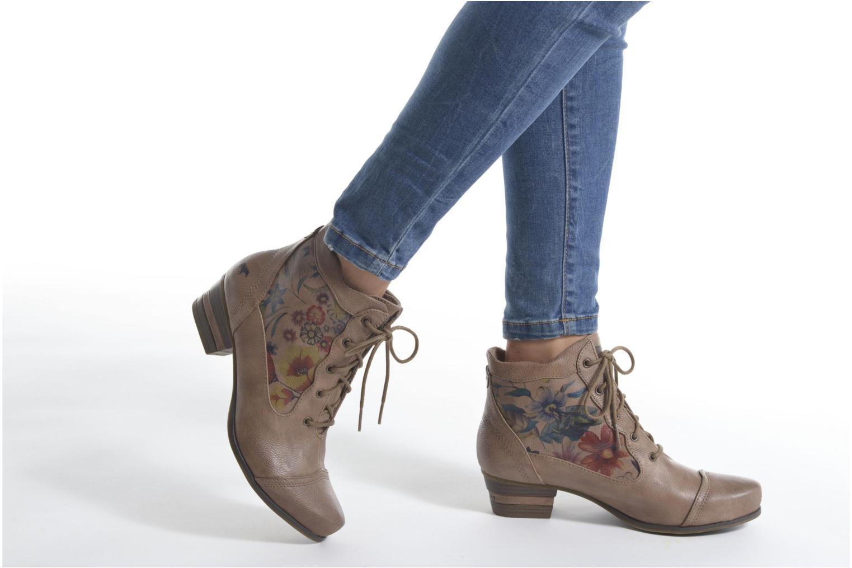 Boots en enkellaarsjes Mustang shoes Manur Bruin onder