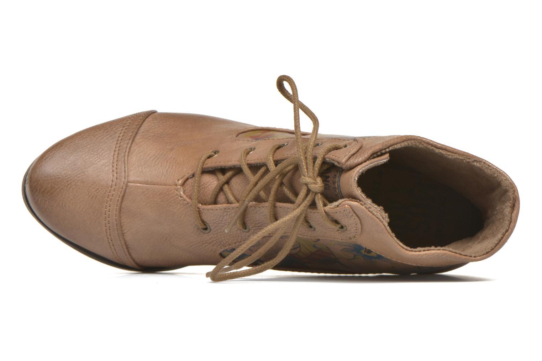 Boots en enkellaarsjes Mustang shoes Manur Bruin links