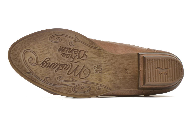 Stiefeletten & Boots Mustang shoes Manur braun ansicht von oben