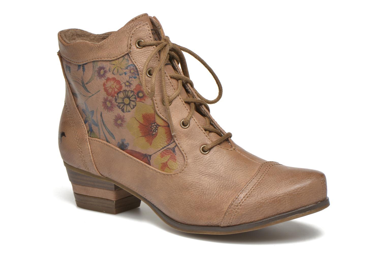 Boots en enkellaarsjes Mustang shoes Manur Bruin detail