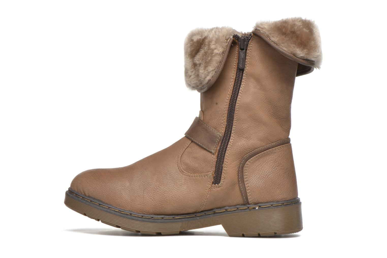 Ankle boots Mustang shoes Munat Brown front view