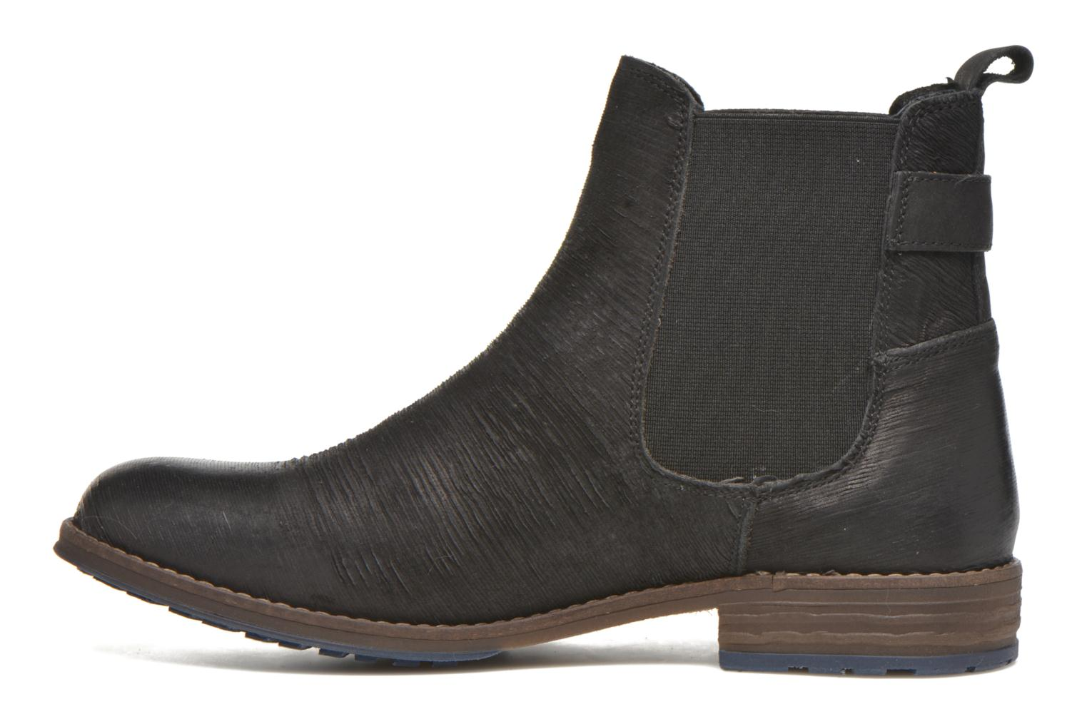 Ankle boots Mustang shoes Mubla Black front view