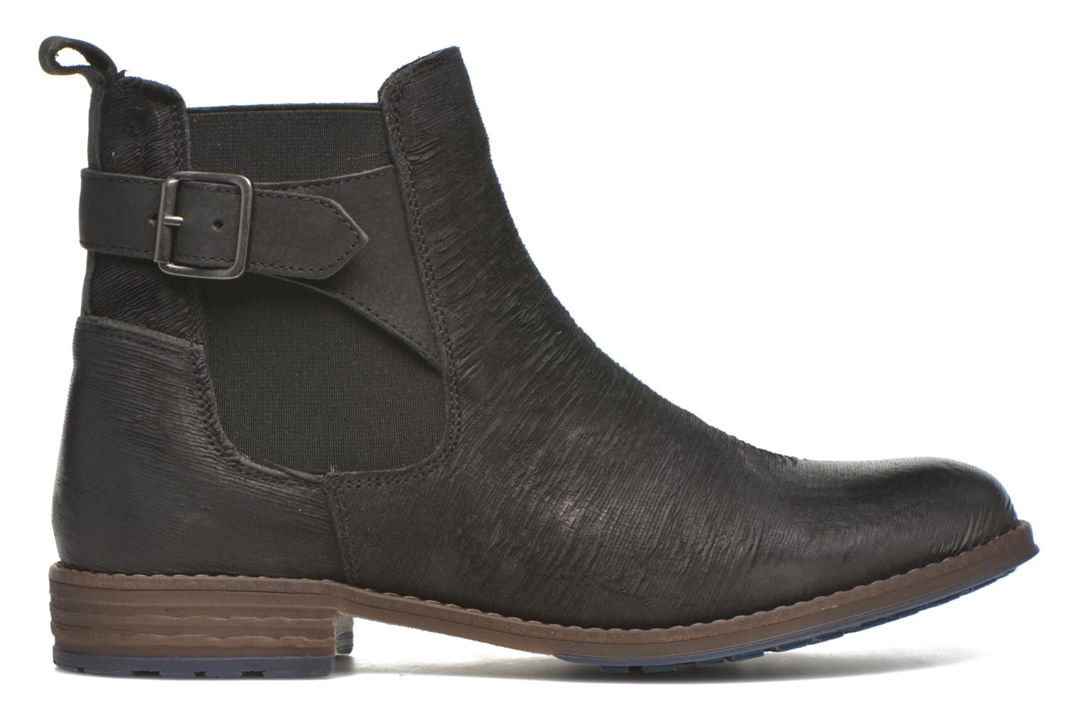 Ankle boots Mustang shoes Mubla Black back view