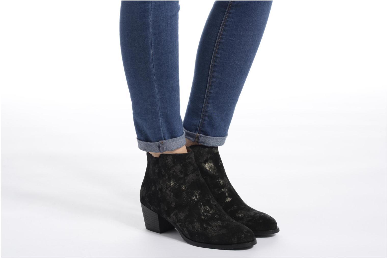 Bottines et boots Softwaves West 10 Noir vue bas / vue portée sac
