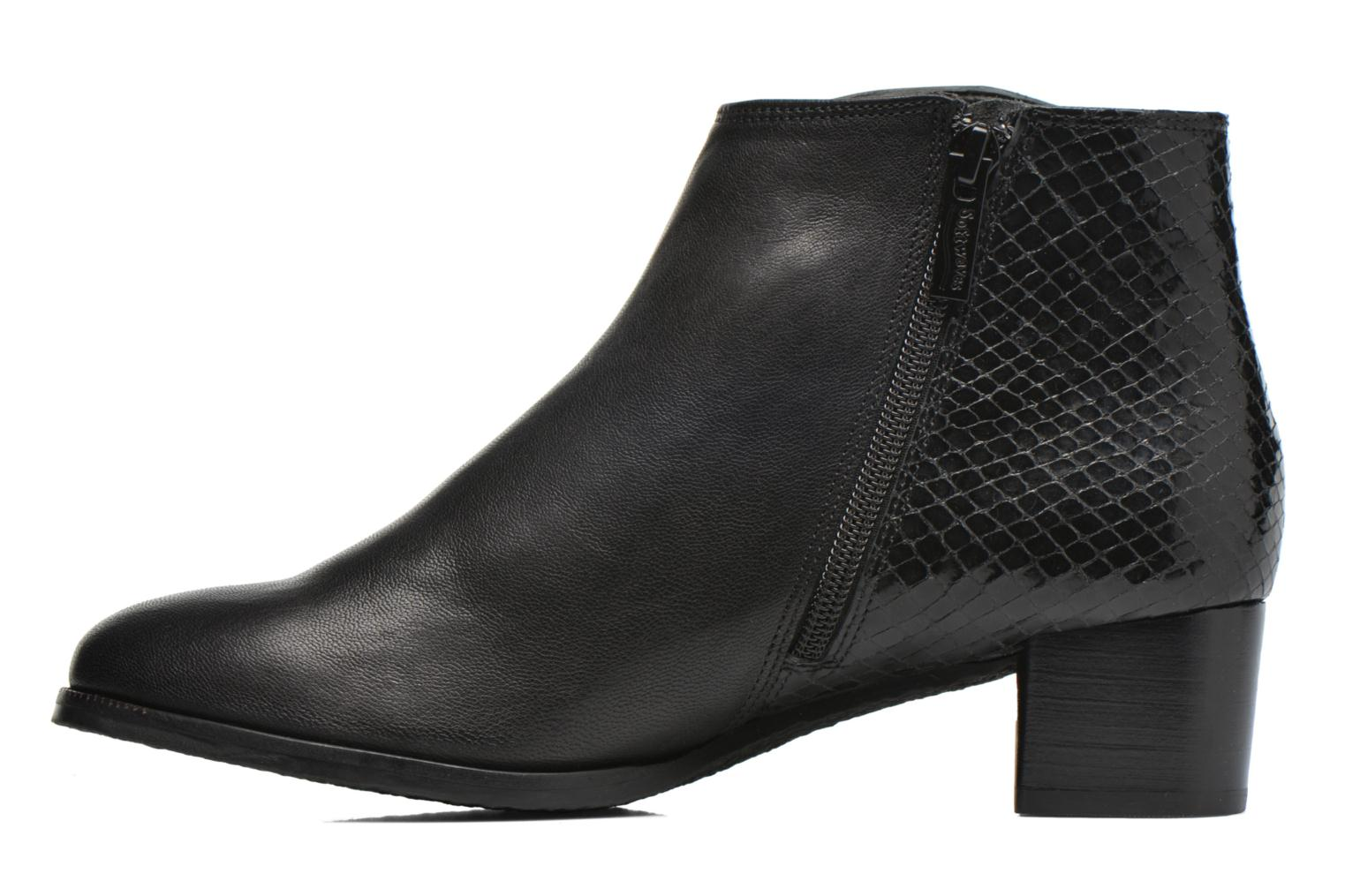 Ankle boots Softwaves Tess 06 Black front view