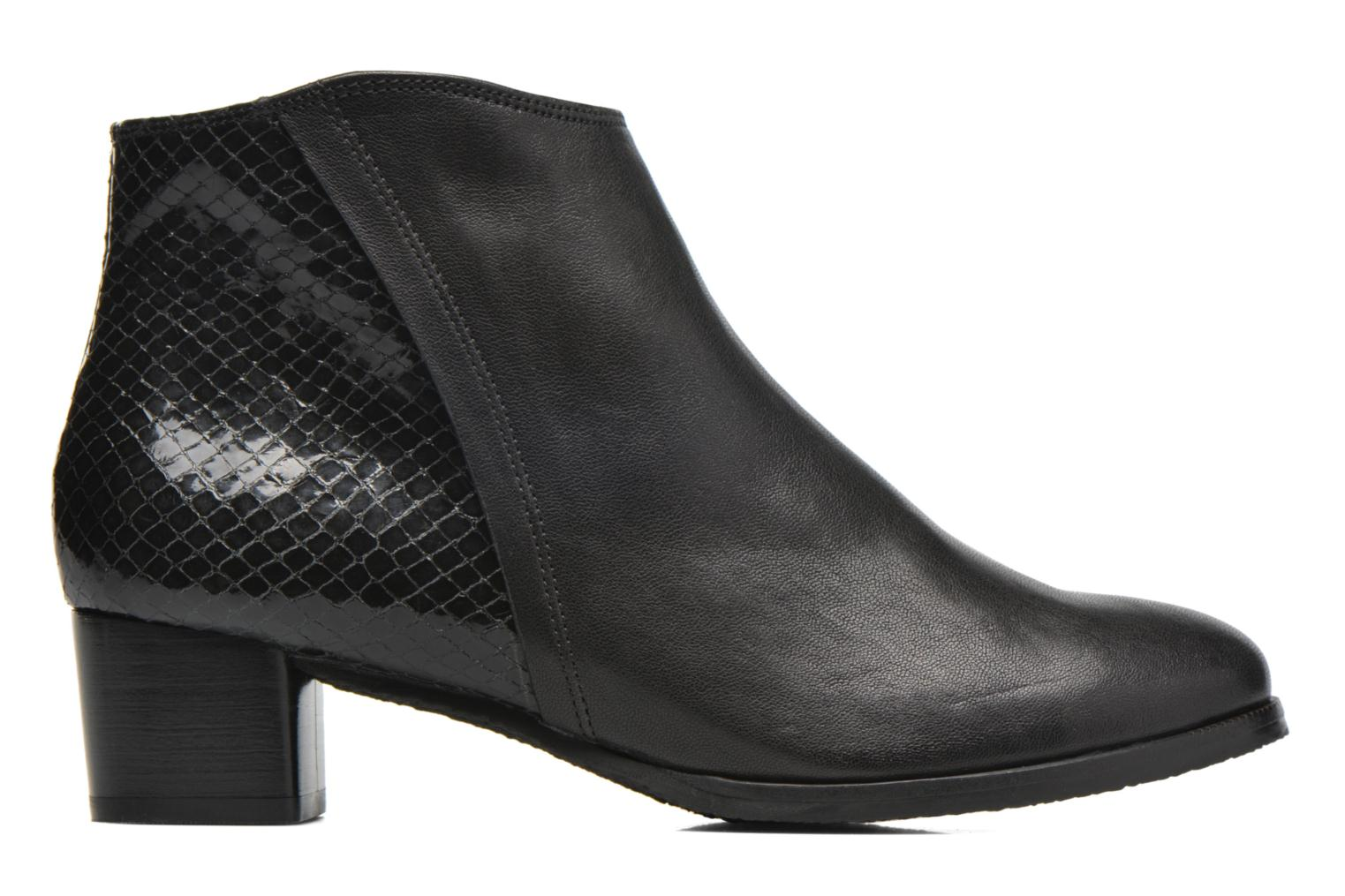 Ankle boots Softwaves Tess 06 Black back view