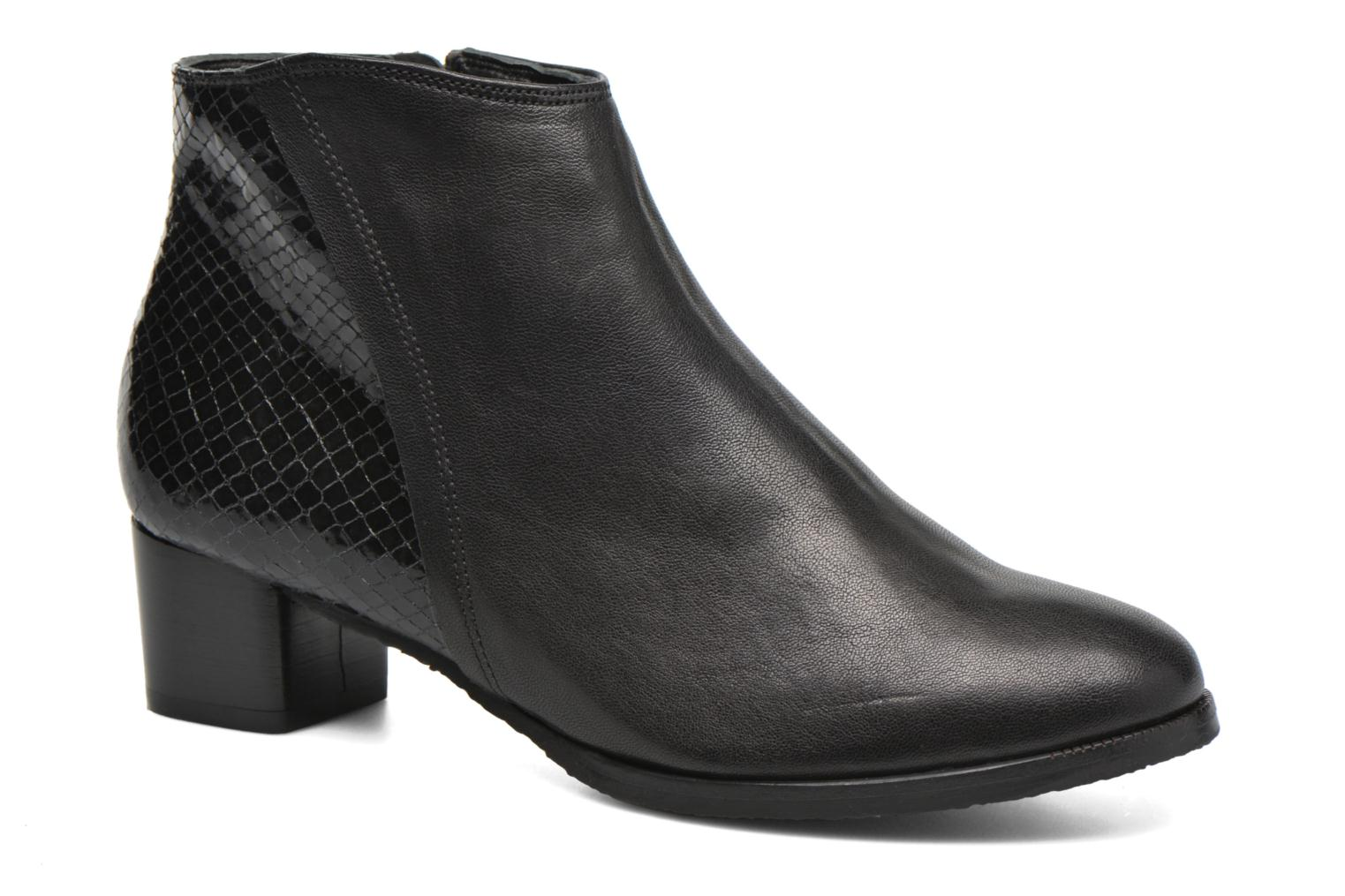 Ankle boots Softwaves Tess 06 Black detailed view/ Pair view