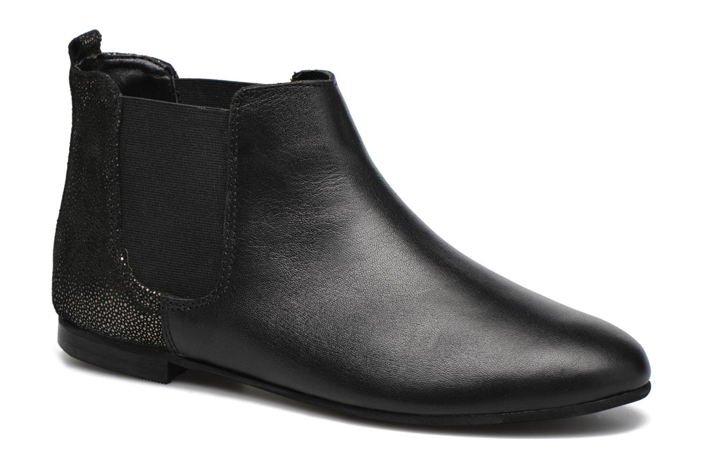 Boots en enkellaarsjes André Carrousel Zwart detail