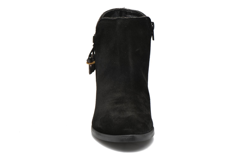 Bottines et boots André Mistinguette Noir vue portées chaussures