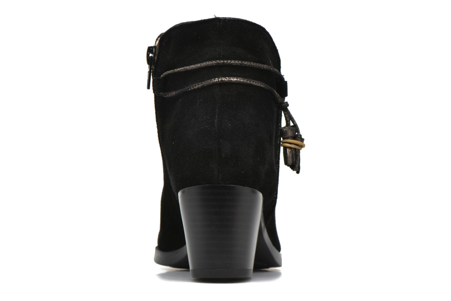 Ankle boots André Mistinguette Black view from the right