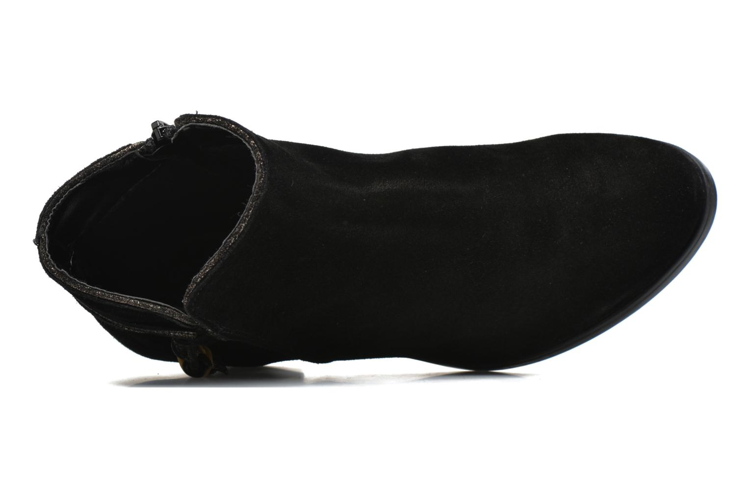 Ankle boots André Mistinguette Black view from the left