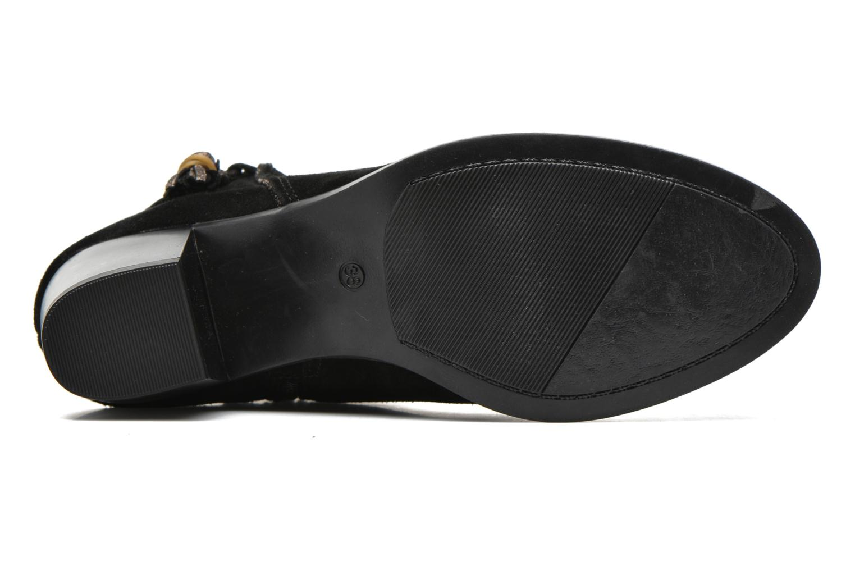 Bottines et boots André Mistinguette Noir vue haut