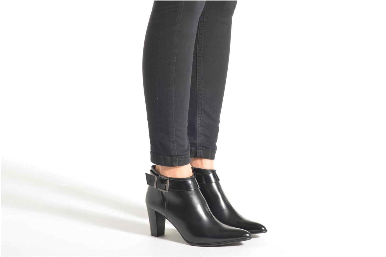 Bottines et boots Perlato Pauline Noir vue bas / vue portée sac
