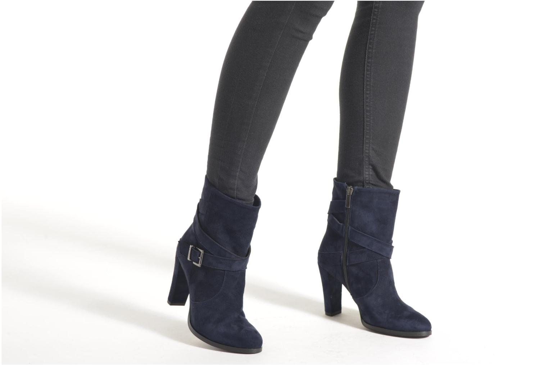 Stiefeletten & Boots Perlato Paola blau ansicht von unten / tasche getragen