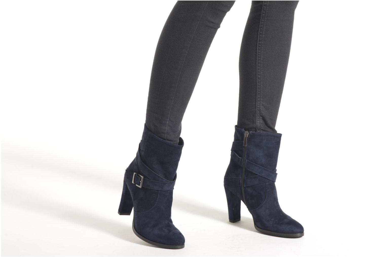 Boots en enkellaarsjes Perlato Paola Blauw onder
