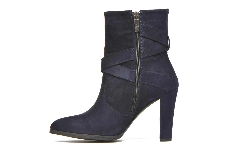 Boots en enkellaarsjes Perlato Paola Blauw voorkant