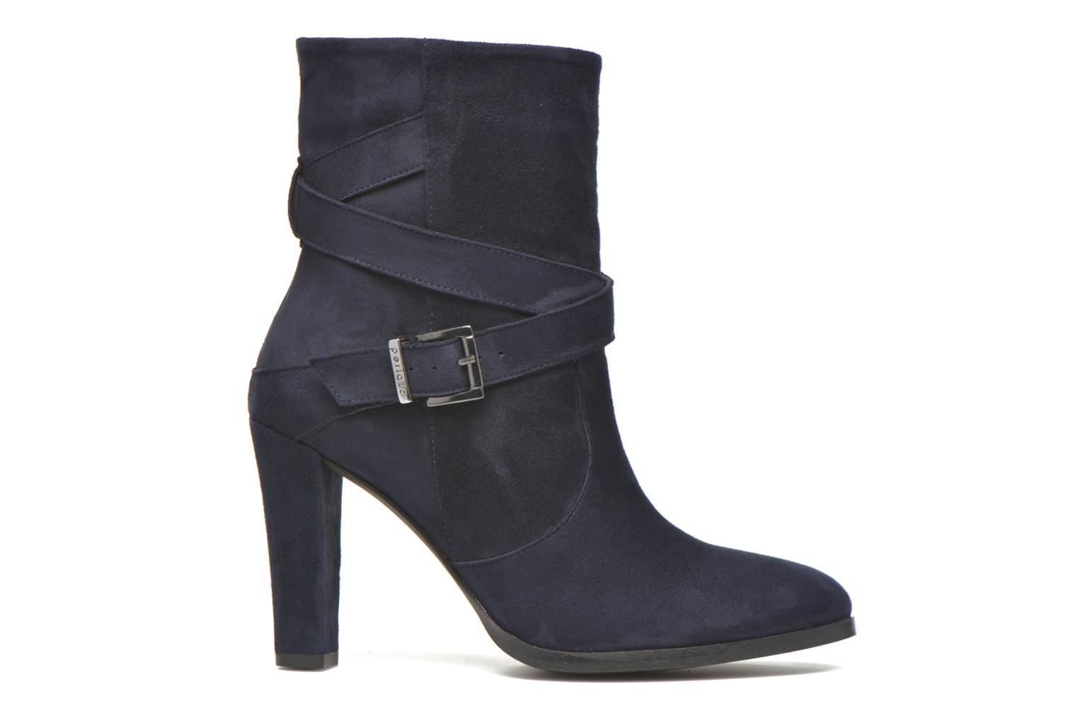 Ankle boots Perlato Paola Blue back view