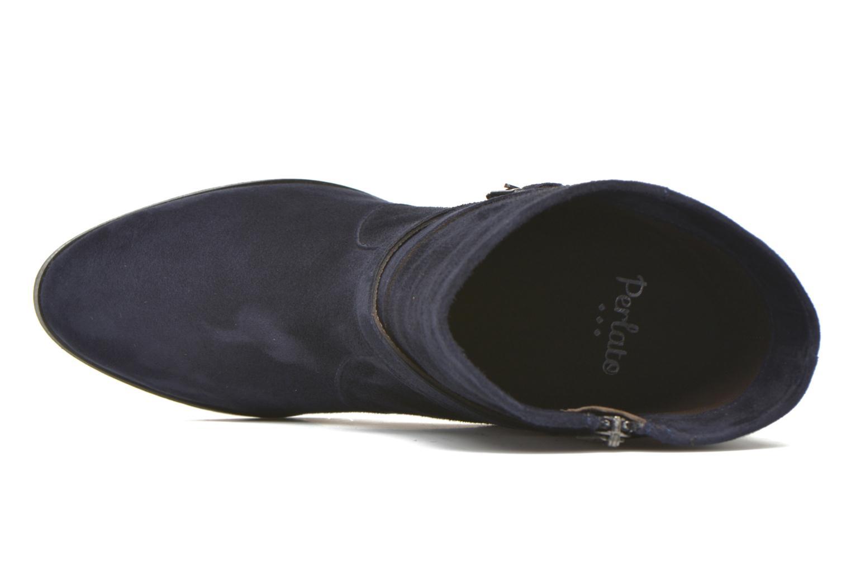 Stiefeletten & Boots Perlato Paola blau ansicht von links