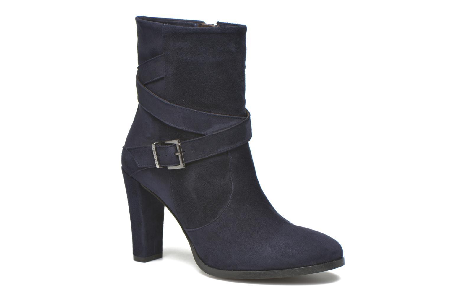 Boots en enkellaarsjes Perlato Paola Blauw detail