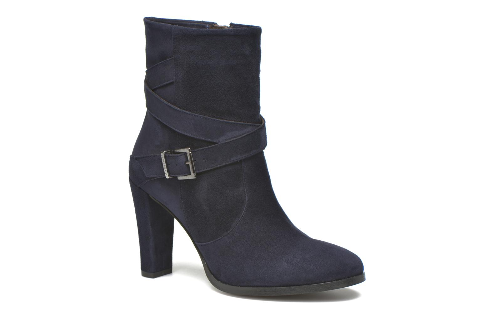 Ankle boots Perlato Paola Blue detailed view/ Pair view