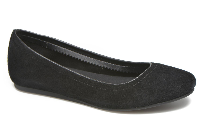 Bailarinas Crocs Crocs Lina Suede Flat Negro vista de detalle / par