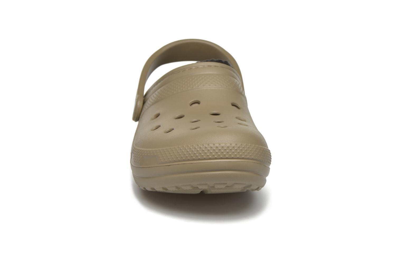 Sandales et nu-pieds Crocs Classic Lined Pattern clog Vert vue portées chaussures