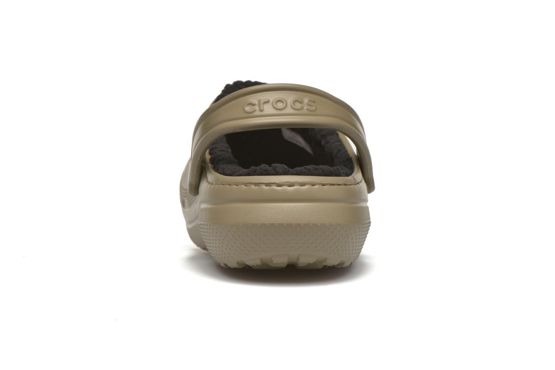 Sandales et nu-pieds Crocs Classic Lined Pattern clog Vert vue droite