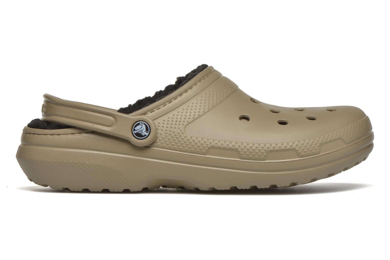 Sandales et nu-pieds Crocs Classic Lined Pattern clog Vert vue derrière