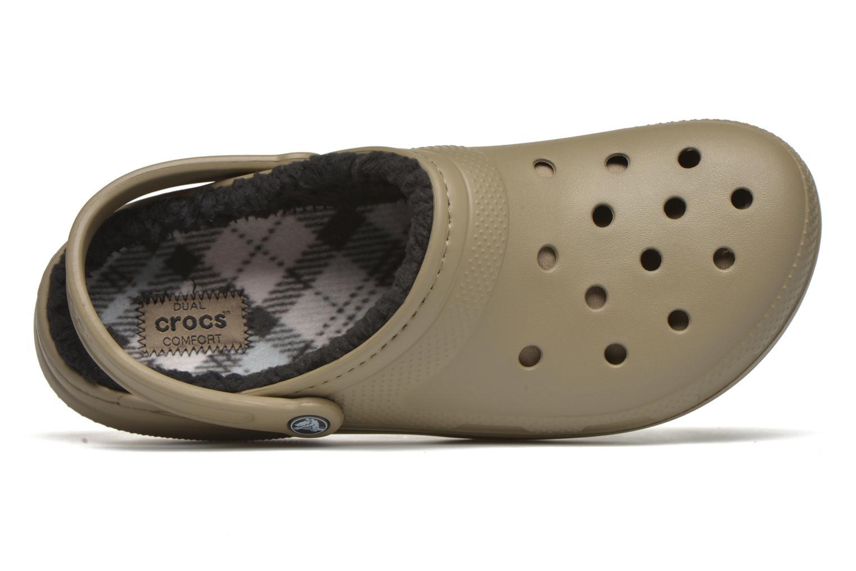 Sandales et nu-pieds Crocs Classic Lined Pattern clog Vert vue gauche