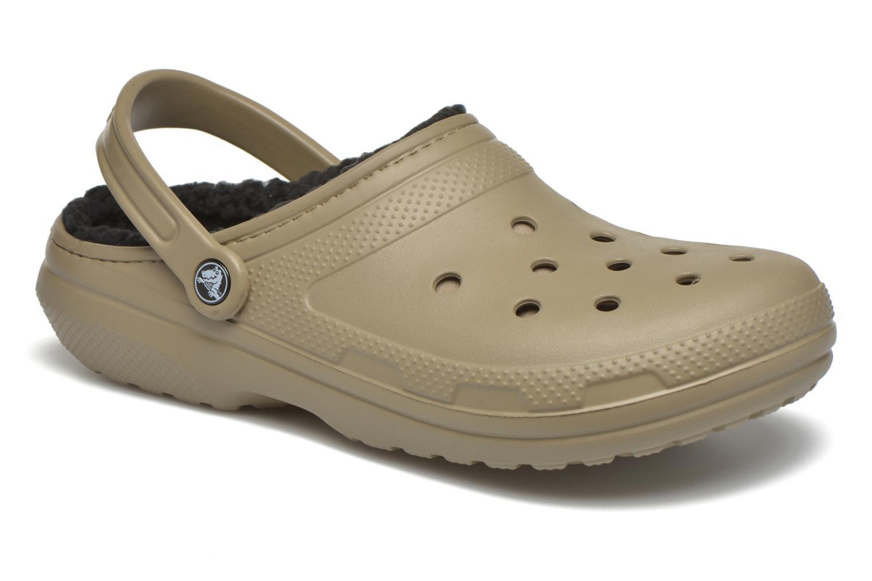 Sandales et nu-pieds Crocs Classic Lined Pattern clog Vert vue détail/paire