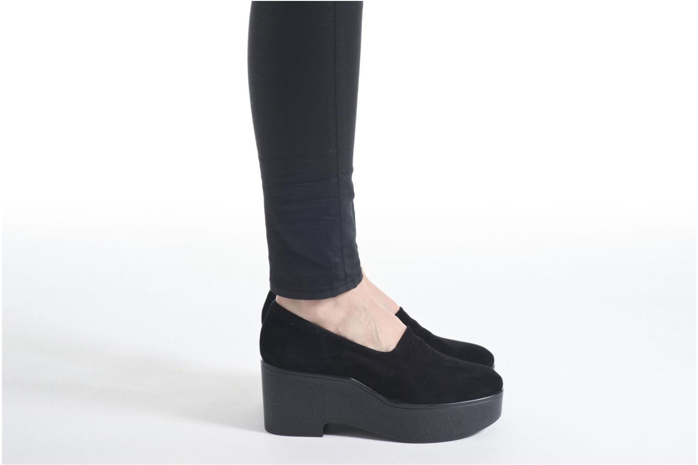 Xalo velours stretch noir