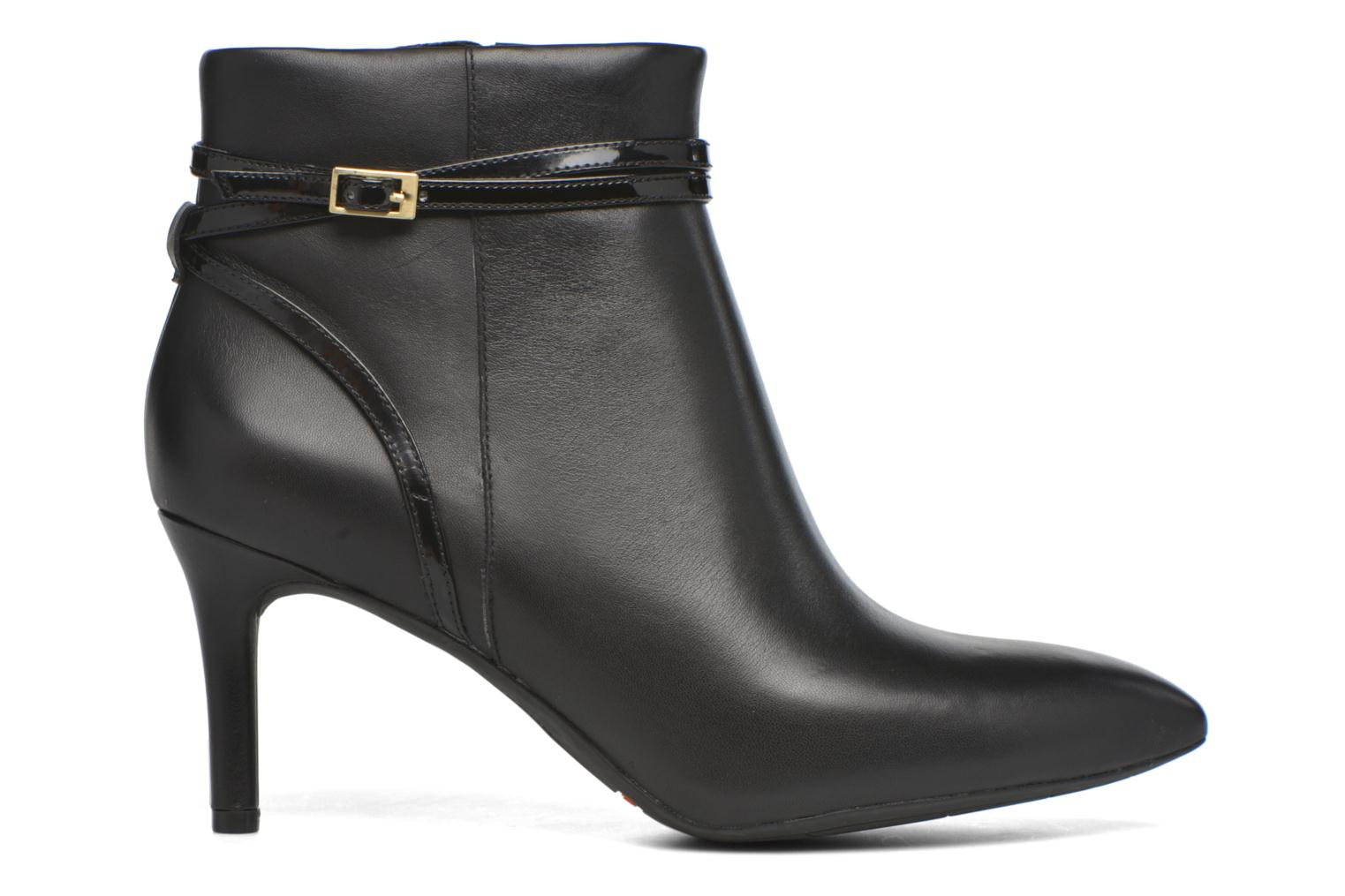 TM75MMPTH Strap Bootie Black leather