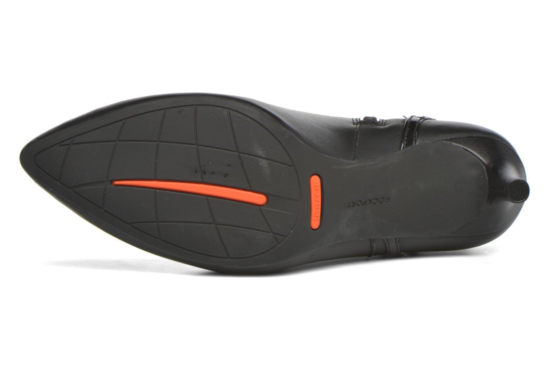 Bottines et boots Rockport TM75MMPTH Strap Bootie Noir vue haut