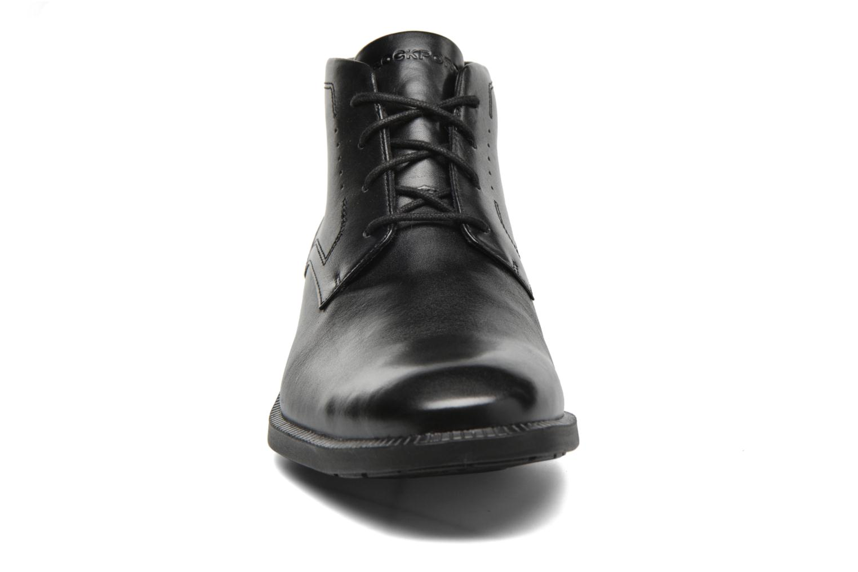 Schnürschuhe Rockport DP Modern Chukka schwarz schuhe getragen