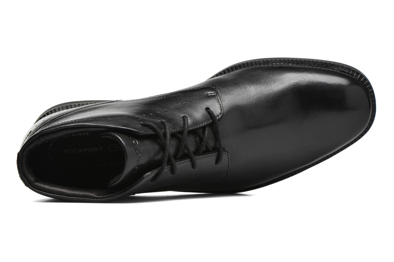 Scarpe con lacci Rockport DP Modern Chukka Nero immagine sinistra