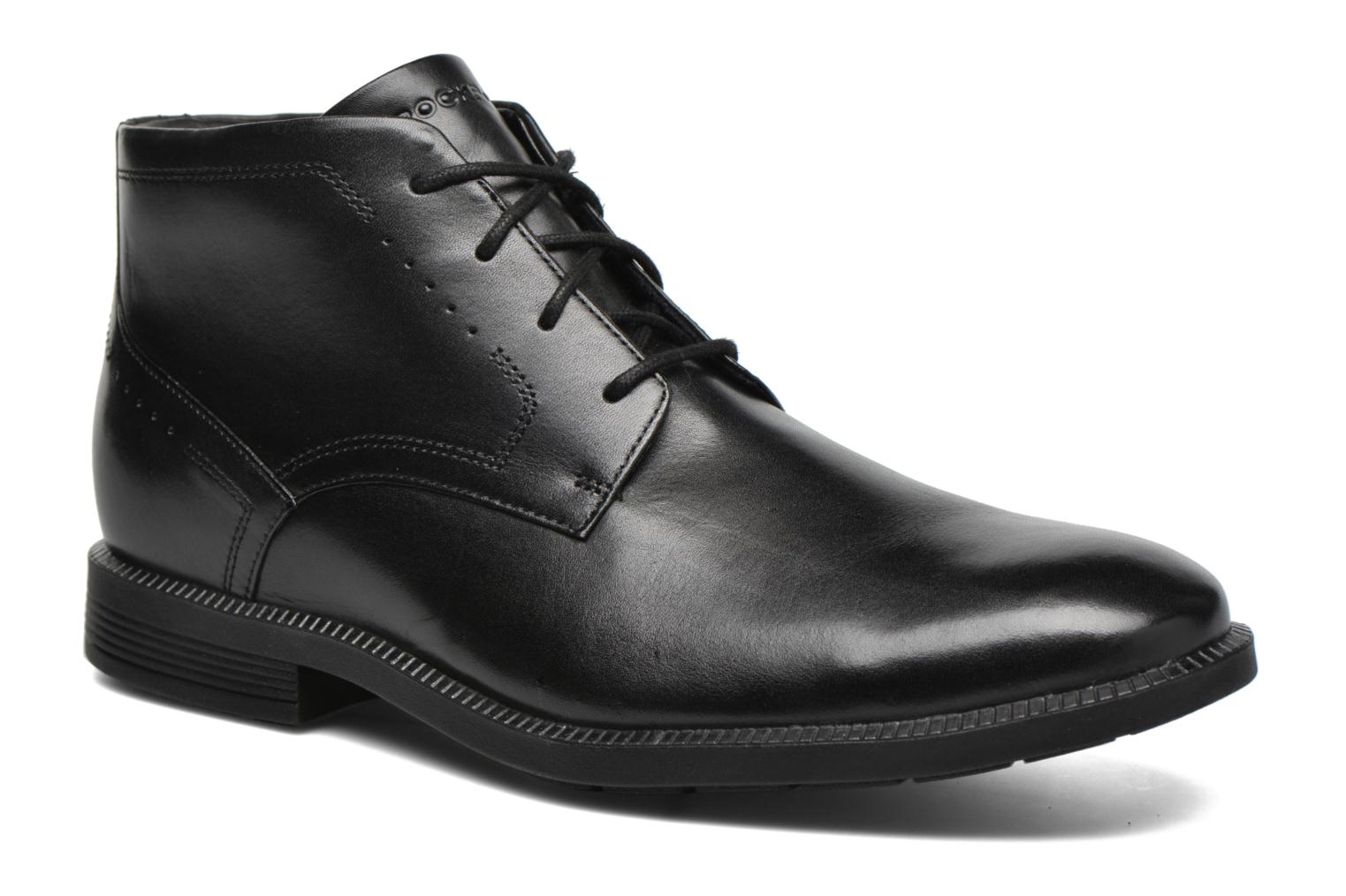 Marques Chaussure homme Rockport homme DP Modern Chukka Black