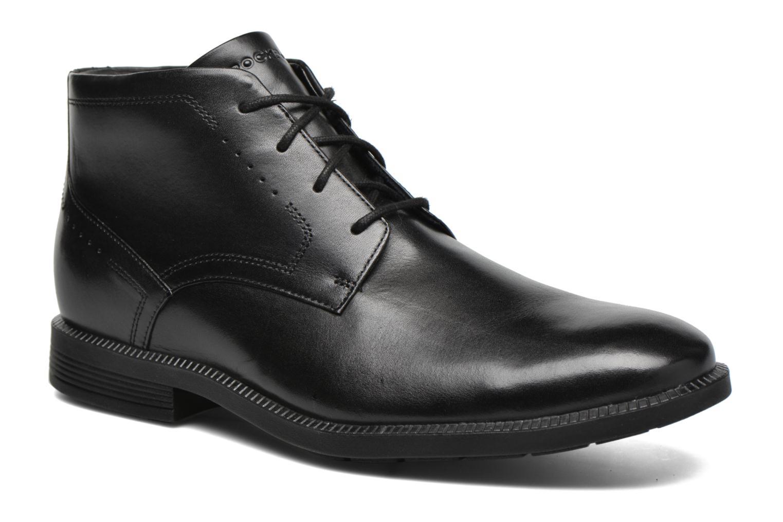 Chaussures à lacets Rockport DP Modern Chukka Noir vue détail/paire