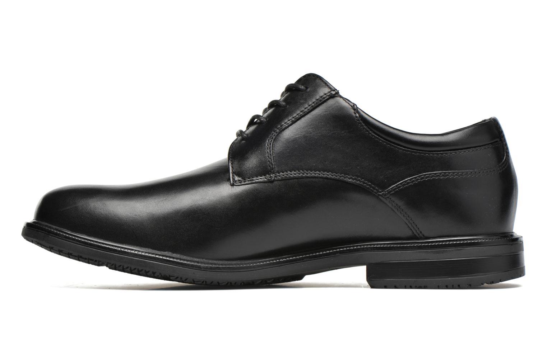 Zapatos con cordones Rockport Esntial Dtl II Plain Toe Negro vista de frente