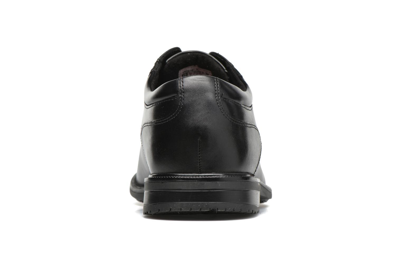 Zapatos con cordones Rockport Esntial Dtl II Plain Toe Negro vista lateral derecha