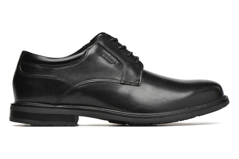 Zapatos con cordones Rockport Esntial Dtl II Plain Toe Negro vistra trasera