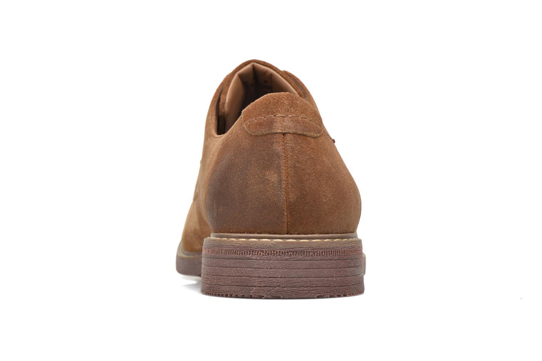 Chaussures à lacets Rockport Classic Break Plain Toe Marron vue droite